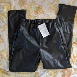 Who What Wear vegan leather pants sz S